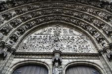 Free The Gate Decoration Of Cathedral Of Our Lady Stock Image - 16470711