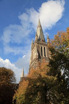 Free A Church In Bruges Stock Images - 16470934
