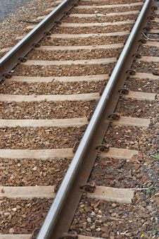 Free Railroad Track Stock Photography - 16471662
