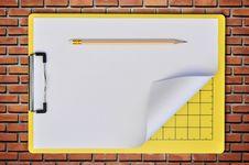 Free Writing Board As Brickwall Royalty Free Stock Photos - 16471688