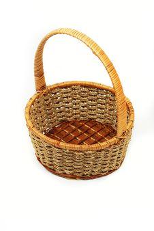 Free Orange Twig Basket Stock Photos - 16471773
