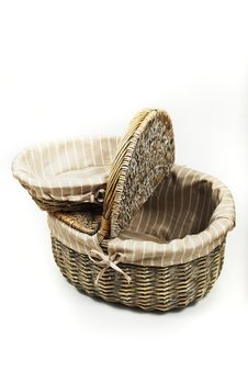 Free Set Of Picnic Baskets Stock Image - 16471891
