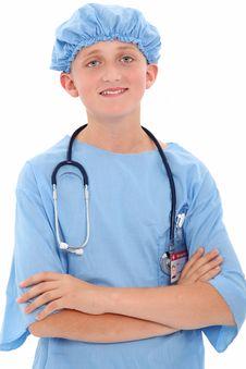 Free Child Surgeon Royalty Free Stock Image - 16472036