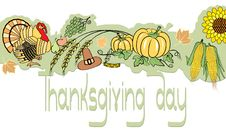 Free Thanksgiving Decoration Royalty Free Stock Photography - 16472097