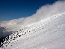 Winter In Carpathian Mountains Stock Photos