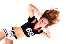 Free Soccer Girl. Stock Images - 16473254