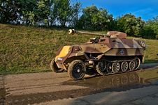 Free Armoured Carrier Stock Photography - 16473382