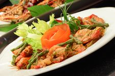 Free Spicy Chili Prawn Royalty Free Stock Image - 16474406