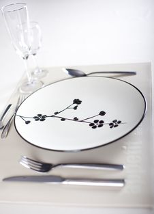 Free A Dinner Plate Royalty Free Stock Image - 16474776
