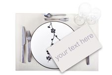 Free A Dinner Plate Stock Photography - 16474902