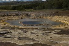 Free Geyser Ready To Erupt Royalty Free Stock Photo - 16475485