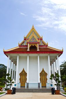Free Church In Temple Angthong Thailand Royalty Free Stock Image - 16475526
