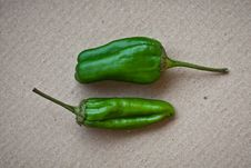 Free Two Jalapeno Peppers Stock Photo - 16475790