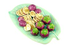 Free Thai Purple Eggplant Stock Photo - 16476020