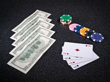 Free Poker S Attributes Stock Photos - 16476293