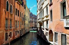Free Venice Canal Stock Photography - 16476722