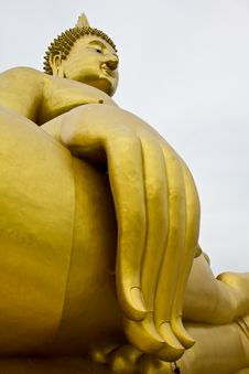 Free Big Hand Buddha Image Stock Photography - 16477162