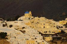 Free Santorini Island Royalty Free Stock Photography - 16477847