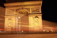 Free Arc Du Triomphe Stock Photography - 16477892