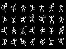 Free Pictographs, Icons Stock Image - 16478151