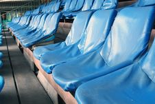 Free Chairs In Stadium Royalty Free Stock Images - 16478189