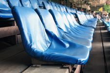 Free Chairs In Stadium Stock Photography - 16478212