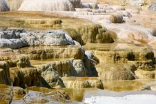 Free Landscapes Of Yellow Stone National Park Stock Photography - 16478252
