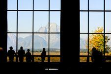 Free Enjoying Mountain View Royalty Free Stock Photos - 16478368