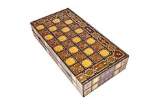 Backgammon Box Royalty Free Stock Image