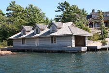 Free Boat House Stock Photography - 16478812
