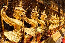Free Golden Garuda At Royal Palace, Bangkok,T Stock Image - 16479731