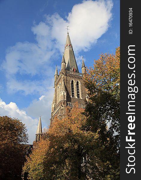 A church in Bruges