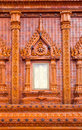 Free The Window Of  Thai Temple Royalty Free Stock Image - 16488206