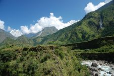 Free Annapurna Landsacpe -  Nepal Royalty Free Stock Image - 16480196