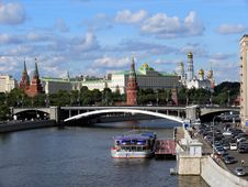 Free Moscow Kremlin Royalty Free Stock Photography - 16480297