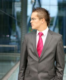 Free A Young Businessman In Formal Clothes Stock Photos - 16480363