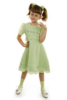 Free Small Girl Of Fashion Royalty Free Stock Photo - 16480365