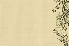Free Floral Scrolls Stock Photo - 16480440