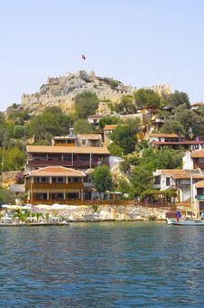 Free Mediterranean Seafront Stock Image - 16480591