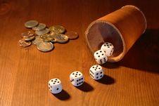 Free Dice Gambling Stock Images - 16480604