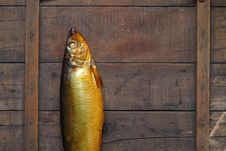 Free Bloater On Wood Royalty Free Stock Photos - 16480608