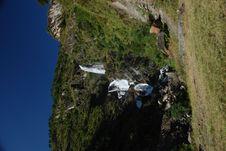 Cascade Waterfall Royalty Free Stock Photos