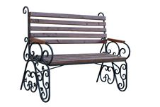 Free Wooden Garden Bench Royalty Free Stock Images - 16480989
