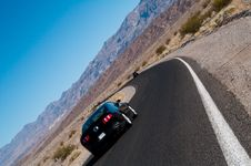 Free Death Valley Road Surface Car Stock Photos - 16481103
