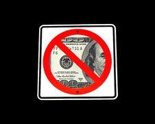 Free Dollar Road Sign Royalty Free Stock Photo - 16481495