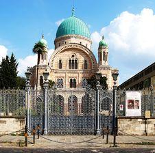 Free Jewish Sinagogue, Florence. Royalty Free Stock Photos - 16481678