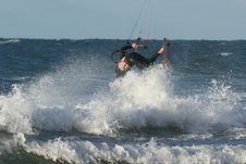 Free Kitesurfer Stock Images - 16482354