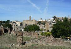 Free Rome - Forum Romanum Ruins Royalty Free Stock Image - 16482526