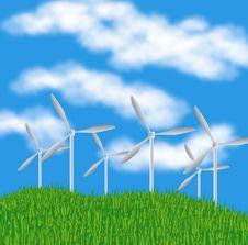 Free Generators Winds Royalty Free Stock Photos - 16483068
