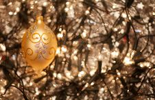 Free Baubles And Holly Stock Images - 16483294
